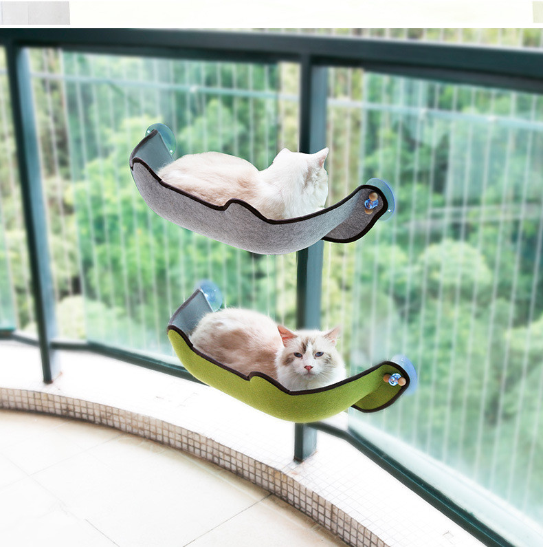 Warm Cat Hammock Fur Bed Hanging Cat Cage Ferret Rest House Soft Pets Supplies