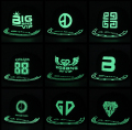 Kpop BIGBANG bright men and women cap baseball cap flat cap hat hip hop fluorescent glow hat flat caps k-pop