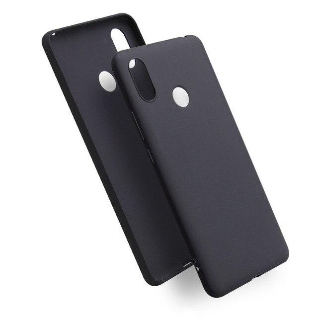 sports shoes 5b0d9 0ade8 US $1.99  FQCGV Matte TPU Soft case For Xiaomi Redmi Note 5 pro 6 Pro Black  cover For Xiaomi Mi 8 SE A2 A2 lite Mix 2S Max 3 Case cover-in Fitted ...
