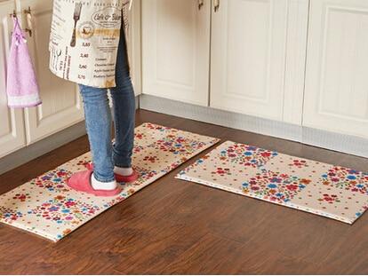 2pcsset memory foam decorative floor mat for living room slow rebound mat non. Interior Design Ideas. Home Design Ideas