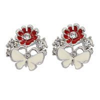 Super cost-effective Fashion Jewelry  party earrings crystal small  earrings for women