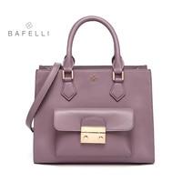 BAFELLI bags for women 2017 split leather box flap crossbody bag blosa feminina handbags women famous brands womens bags