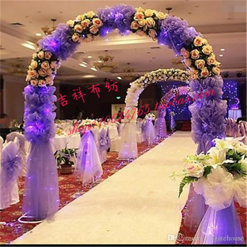 Purple Gold And White Wedding Decor Oh Decor Curtain