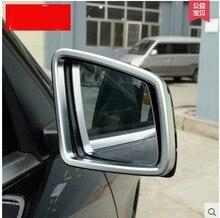 Хром Стайлинг Боковая Дверь Зеркало Заднего Вида Крышки Накладка Для Mercedes Benz ML GL 2013 2014 2015 2016 Автомобильные Аксессуары