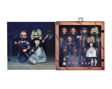NECA anime Child's Play Bride of Chucky figure toys Doll Chucky PVC Horror Action Figures