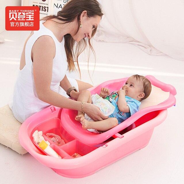 eb124aff3 Newborn Baby Care Bathtub Plastic Adjustable Bath Tub Baby Sitting ...