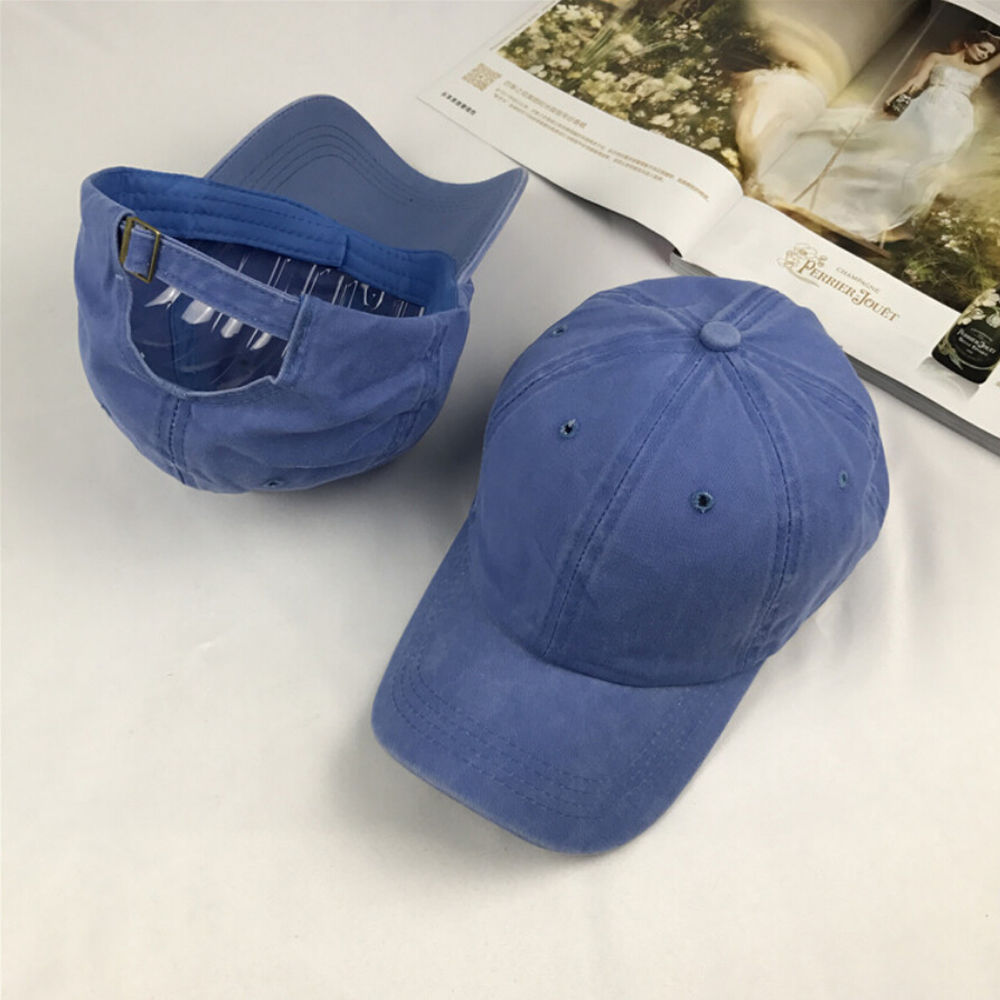 1df4755fa0c9d3 Aliexpress.com : Buy HIRIGIN Solid Distressed Vintage Cotton Polo Style Baseball  Ball Cap Hat 100% Cotton NEW Casquette from Reliable ball cap suppliers on  ...
