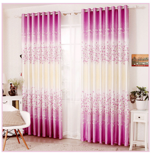 The New Bedroom Blackout Curtains Finished Color Bright Living Room