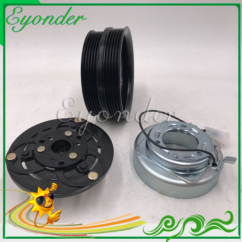 A C Air Conditioning Cooling Compressor Pump Magnetic Clutch Assembly for Volvo V50 MW C30 S40