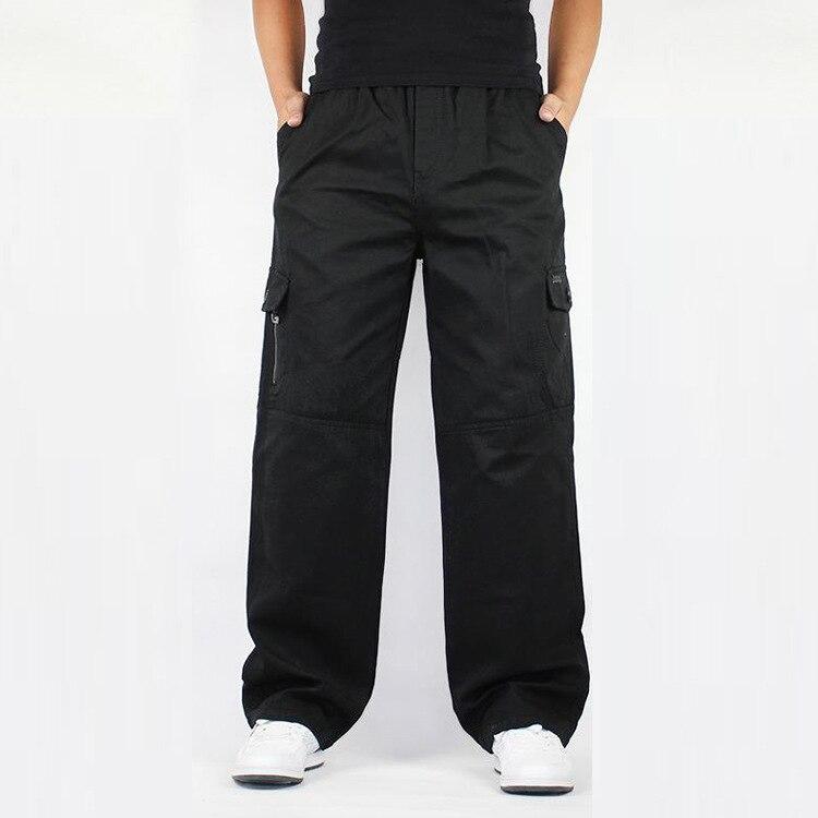 Nouveau européen et américain chaussures décontractées pour homme grande taille haut de gamme mode salopette pantalon coton slacks 827