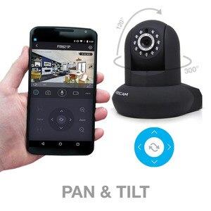 Image 5 - Foscam FI9821P P2P HD 720P פאן הטיה Wired IP אלחוטי מצלמה עם ראיית לילה ו sd כרטיס הקלטה
