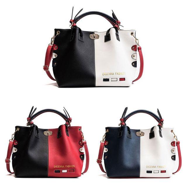 Mode Frauen Leder Schulter Tasche Tote Geldbörse Crossbody Messenger Handtasche Top Griff Taschen