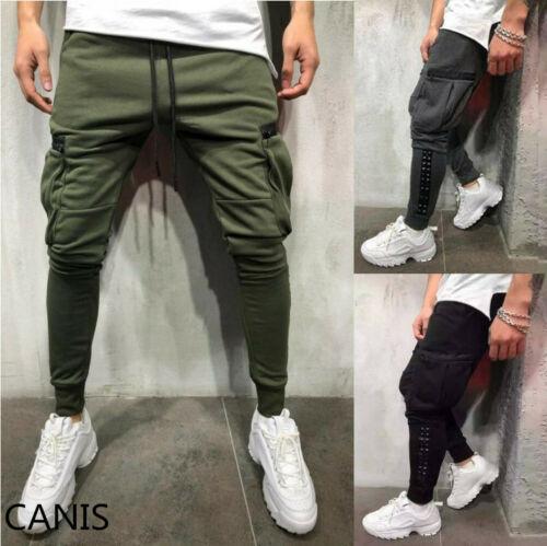 Fashion Men Casual Sport Pants Gym Slim Trousers Running Joggers Sweatpants 2019 Hot Sale
