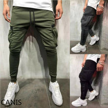 Fashion Men Casual Sport Pants Gym Slim Trousers Running Joggers Sweatpants 2019 Hot Sale