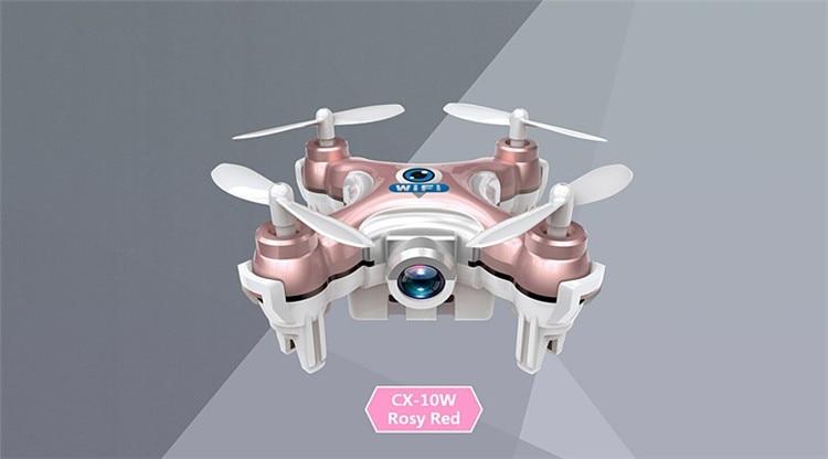 16 Cheerson CX-10W CX 10W Drone Dron Quadrocopter RC Quadcopter Nano WIFI Drone with Camera 7P FPV 6AXIS GYRO Mini Drone 6