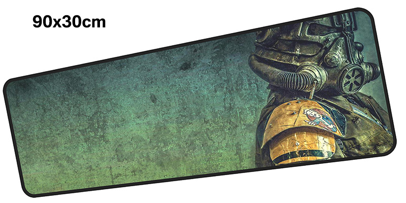 fallout mousepad gamer 900x300X3MM gaming mouse pad large Popular notebook pc accessories laptop padmouse ergonomic mat