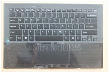 CHÚNG TÔI Máy Tính Xách Tay bàn phím đối với Sony Vaio Vgn Pro13 SVP13 SVP132 SVP13A SVP1321M2EB SVP1322M1EB SVP132A1CM backlit touchpad Palmrest Trường Hợp