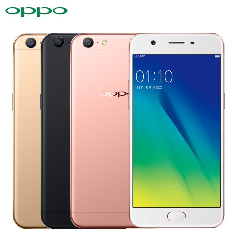 "Original Oppo A57 Cell Phone MSM8940 Octa Core ROM 3GB RAM 32GB 5.2"" Screen Android 6.0 2900mAh 13.0MP Camera 4G LTE Smartphone"