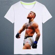 2017new Herren Conor McGregor spaziergang lustige T-Shirt 100% Baumwolle t-shirt für männer