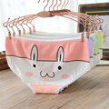 12 color 2017 candy color cartoon rabbit lady briefs cotton low waist breathable comfortable underwear discount merchandise