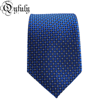 Qyfuly Vintage Men Business Formal Wedding Tie Plaid Neck Tie Fashion Shirt Dress Accessories Man Gifts цена
