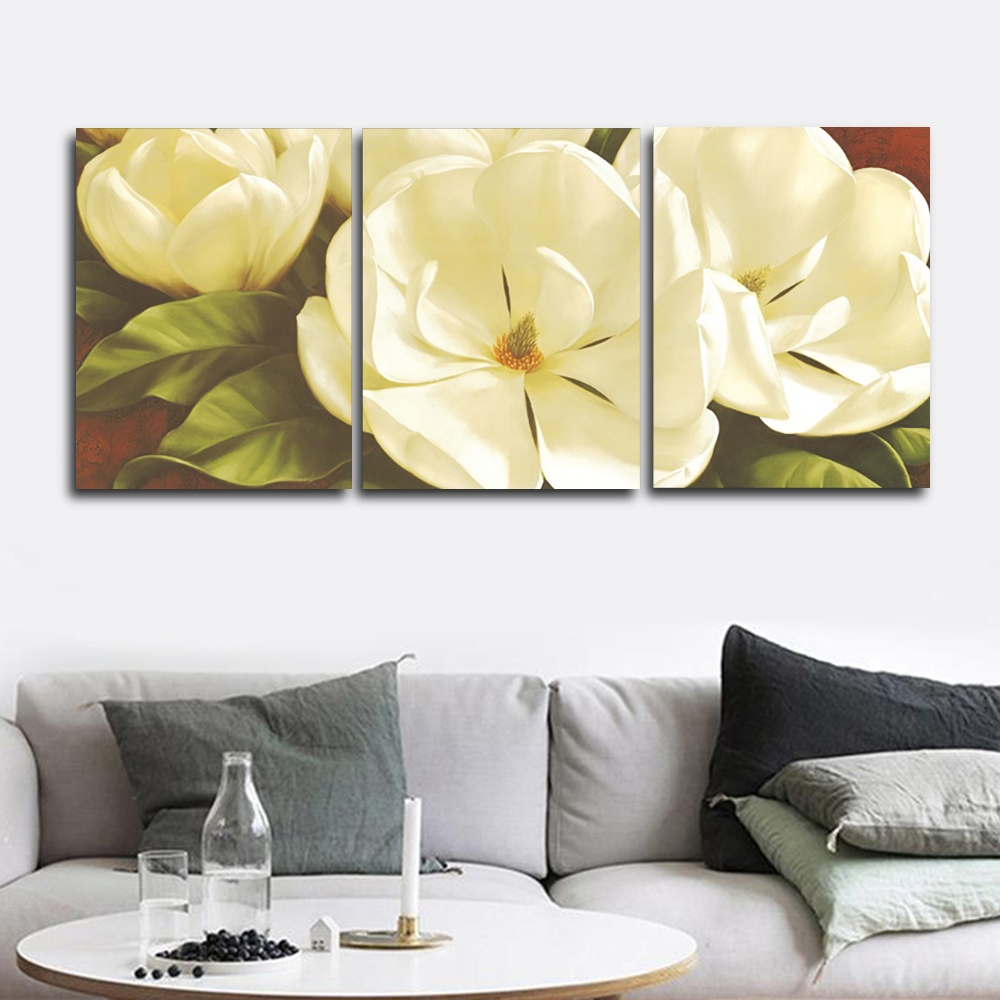 Magnolia by lgor Levashov Wall Picture Posters and Print Canvas Painting Calligraphy Decor for Living Room Home Frameless