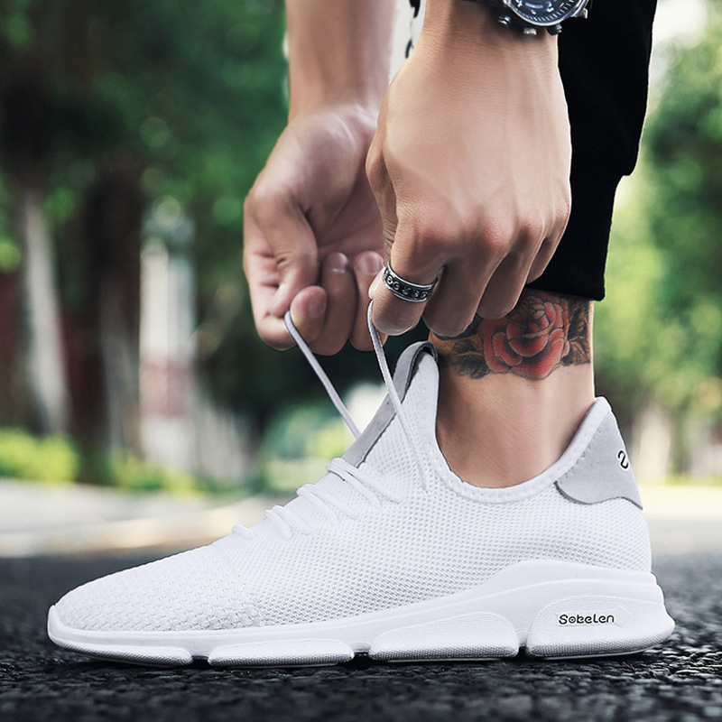 Ligero 1 Chaussure Cool Malla Calzado Pisos Zapatilla Zapatillas Zapatos 3 Sólidos Hombre De 2 Casuales Transpirable Hombres Exw6BfCqT