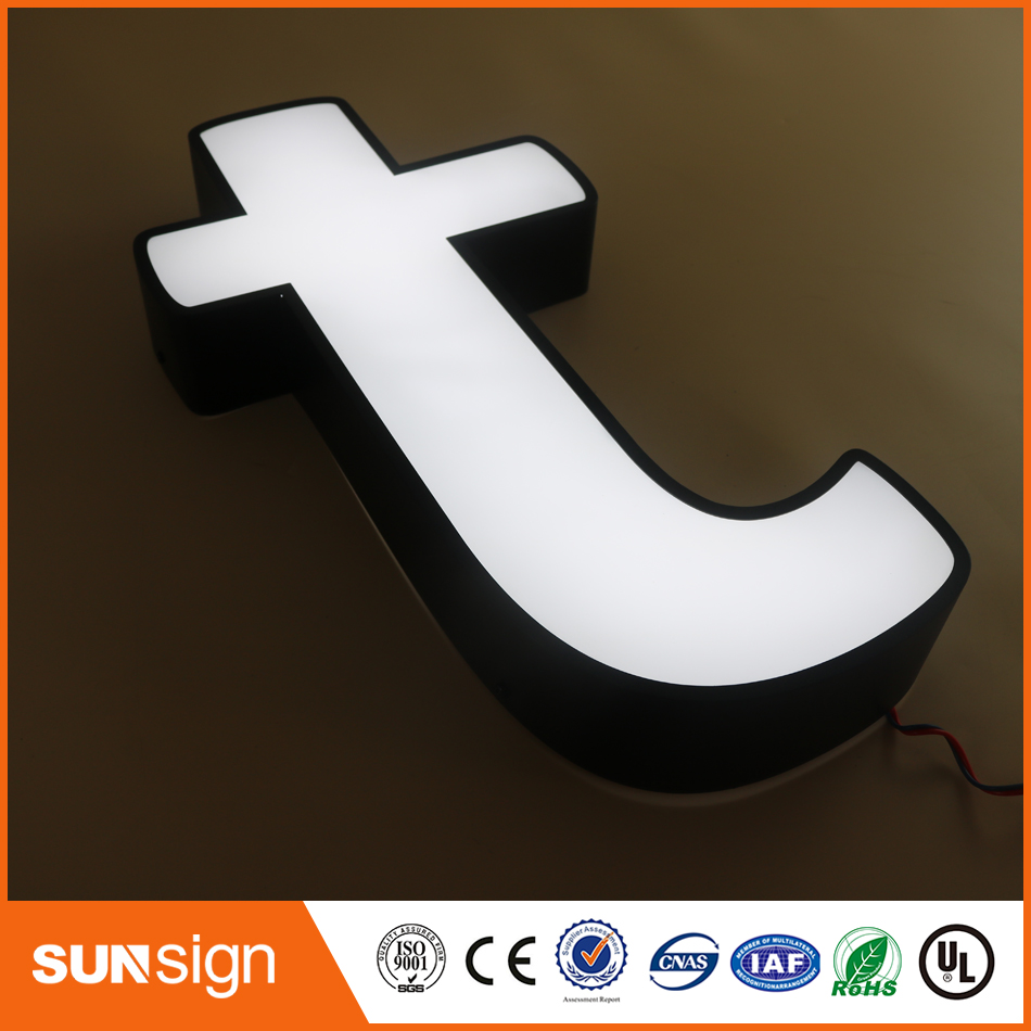 Shop Showroom Front Led Lighted Letter Sign