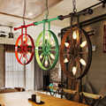 Retro industries iron bars chandeliers lofts retro industrial restaurants creative personality lights ZA GY78