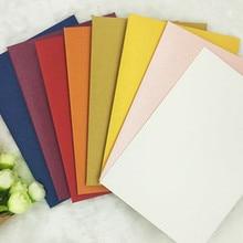 Лучшие Канцелярские ретро Творческий перламутровый цвет бумажный конверт мини утолщение 176*125 мм 30 шт./упак. студент конверты получения карты