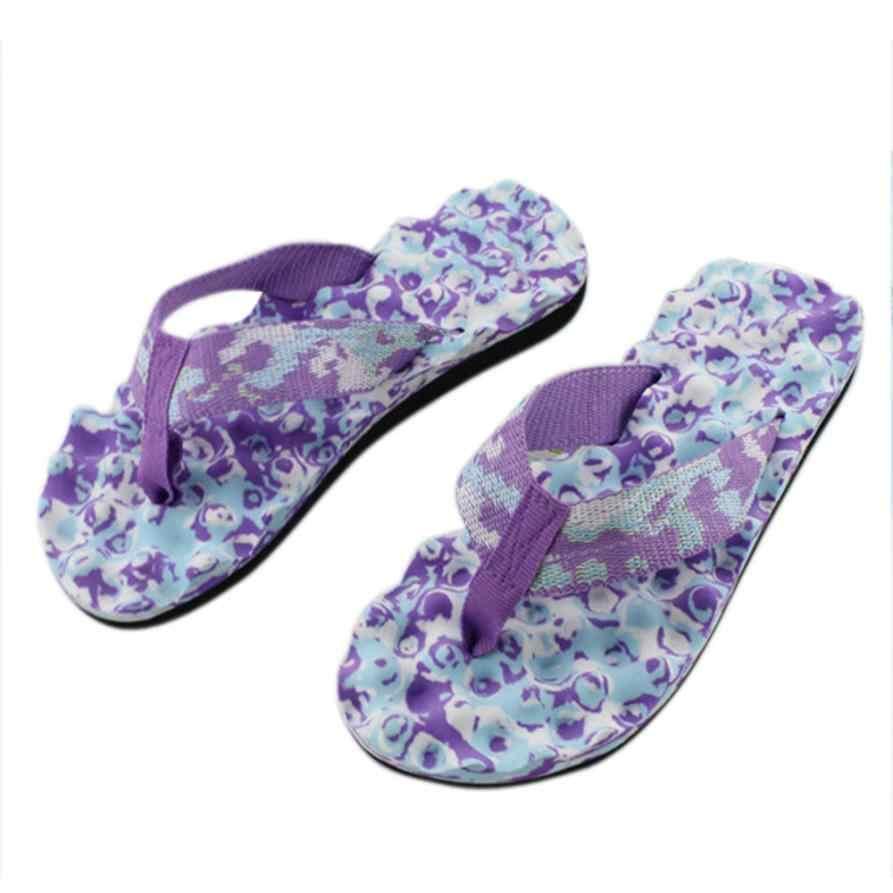2017 frauen Sommer Flip-Flops flachen sandalen frauen bonbonfarbenen weiblichen sommer strand pantoffeln mit flachen sandalen flip-flops