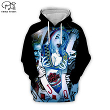 PLstar Cosmos Quinn/Jack 3D Printed Hoodie Mens Womens hip hop apparel boy for girl hoodies poker jacket Plus size XS-7XL