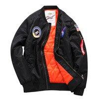 Parka Men Clothes Military Jackets Pilot Coat Bomber Windbreaker Jacket Big Plus Size 5XL 6XL Winter Outwear Air Force MA1 Coats