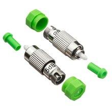 5pcs Fiber Optic Attenuator FC APC 3dB 5dB 7dB 10dB 15dB SM Female to Male FTTH CATV Optical