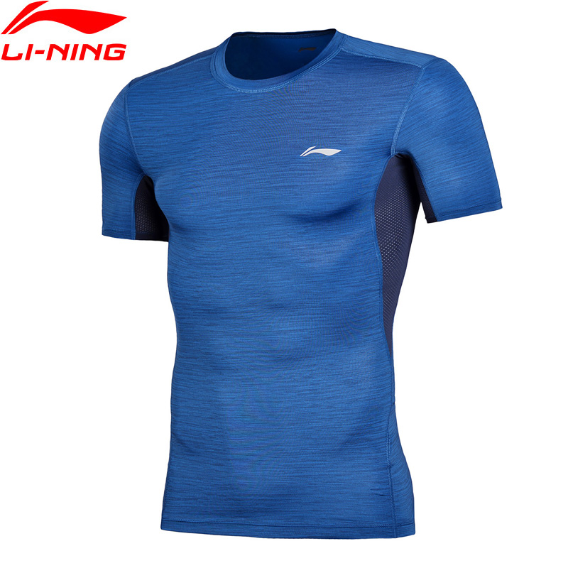 Li-Ning Men Training Professional T-Shirt Layer Slim Fit Quick Dry Breathable LiNing Comfort Sports T-Shirt Tops AUDN015 MTS2712Li-Ning Men Training Professional T-Shirt Layer Slim Fit Quick Dry Breathable LiNing Comfort Sports T-Shirt Tops AUDN015 MTS2712