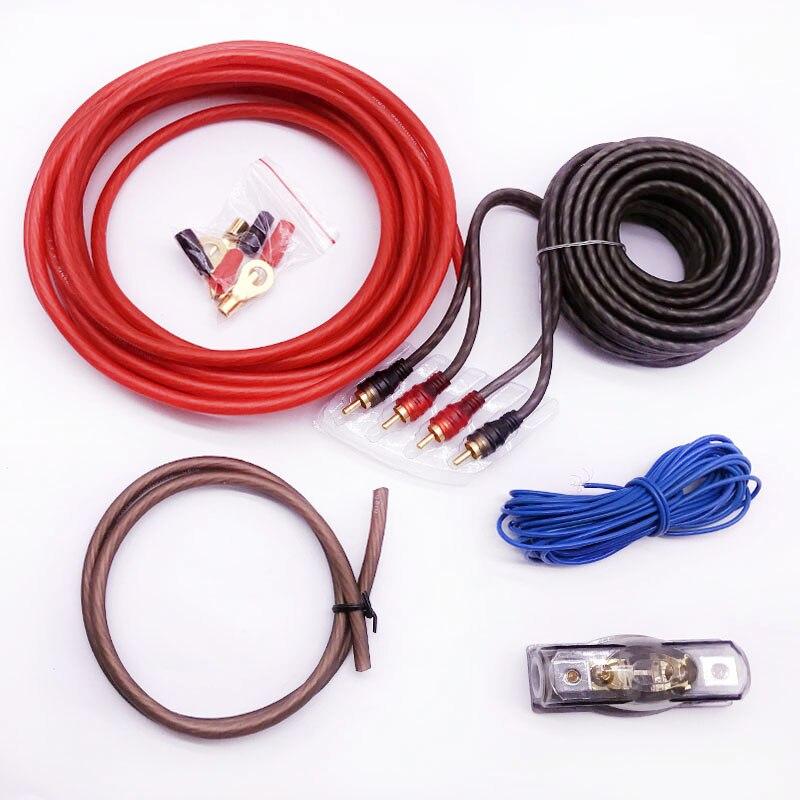 Online Shop Pure Copper line Car Auto Audio Speakers Wiring kits ...