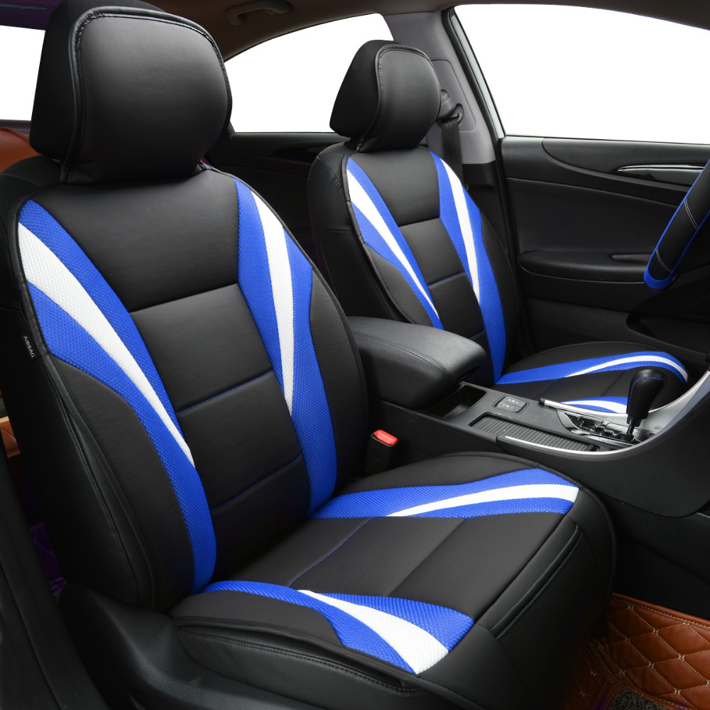 Car Pass Summer Luxury Two Color Seat Cover Universal Car