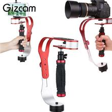 Gizcam Handheld Video 360 Rotary Stabilizer Hand Grip For DV Digital Camera DSLR Sports Action Video Cameras Accessories