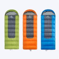 New Outdoor Envelope Sleeping Bag Camping Sleeping Bag Fleece Sleeping Bag NH00F400 D M