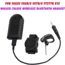 Walkie Talkie Wireless Bluetooth Headset Two Way Radio Wireless Headphone Earpiece For Yaesu Vertex VX-6R VX-7R VX6R VX7R FT-270
