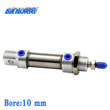 цена на C85N SMC Type Cylinder C85N10-25-50-75-100-125-150-175-200-250-300 Mini Pneumatic Cylinder Double Acting CD85N20-80 CD85N