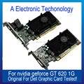 Original Genuína de 1 GB 1024 MB Placa Gráfica Para DELL NVIDIA GEFORCE GT620 Exibição Placa de Vídeo GPU Substituição Testado Trabalho