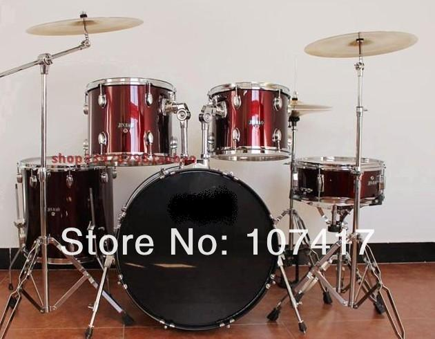2017 New Baqueta Percussion Wholesale The Baiyuan Professional Performance Drum Cymbal Drums Pvt Send Dru Msticks Stoolred