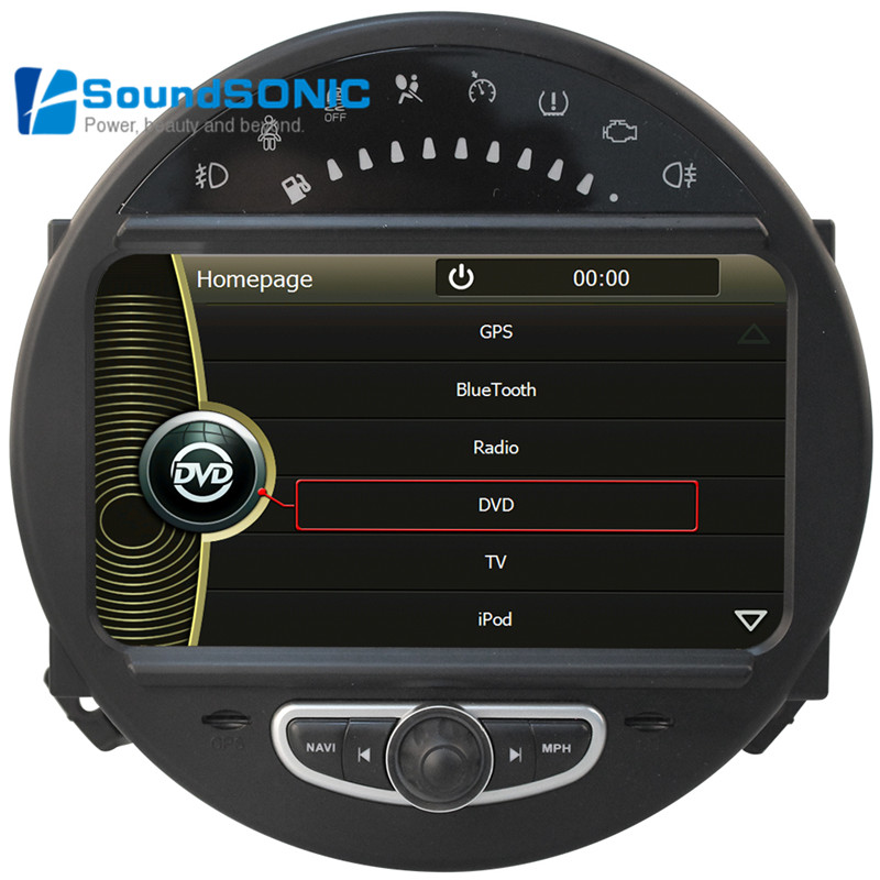 for bmw for mini cooper touch screen car radio dvd gps navigation media multimedia system. Black Bedroom Furniture Sets. Home Design Ideas