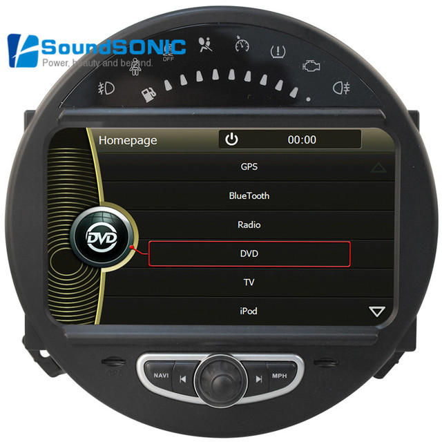 For Bmw Mini Cooper Touch Screen Car Radio Dvd Gps Navigation Media Multimedia System Autoradio