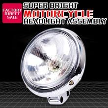Мотоциклетный головной светильник, налобный светильник, лампа в сборе для Honda CA250 Steed 400 600 Steed400 Steed600 Magna Magna250