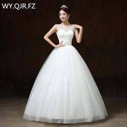 Lygh65 2017 new dresses factory shoulder lace up flower shoulder bride wedding gown customize plus size.jpg 250x250