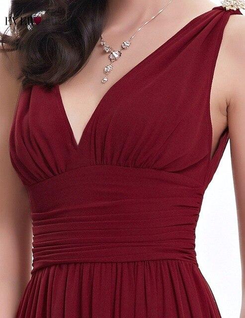 Evening Dresses Double V Black Elegant Long Formal Gown EP09016 Ever Pretty 2017 Vestido Longo Evening Dresses