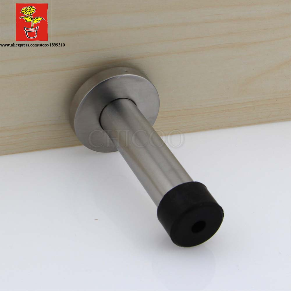 Buy 2015 decorative door stopper stainless steel rubber door stop high - Door stoppers rubber ...