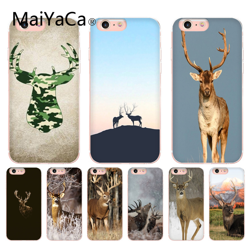 MaiYaCa Deer Hunting Camo Hot selling Phone Case cover Shell For iphone 8 8plus and 7 7plus 6s 6s Plus 6 6plus 5s Cellphones